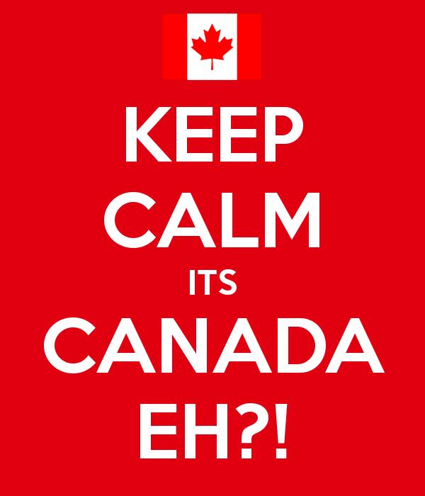 Keep Calm Eh